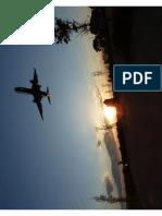 Transfer avión despegando