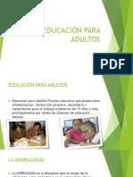 Educación Para Adultos