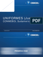 Uniformes Primera Fase Sudamericana