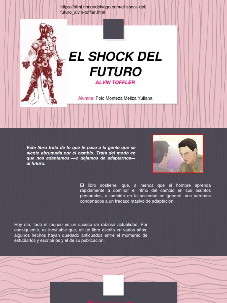 El Shock Del Futuro Alvin Toffler Ebook Download