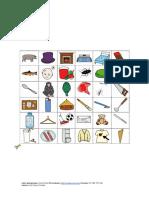 Pictogramas con el fonema /ch/
