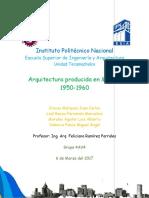 arquitectura mexicana de 1950-1960