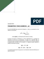 Parámetros Físico Químicos