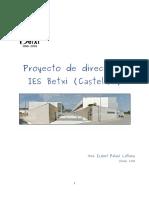 Proyecto de dirección IES Betxí