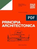 Principia Architectonica Esp Texto Completo
