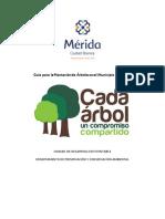 Guía para la plantación de árboles en el municipio de Mérida