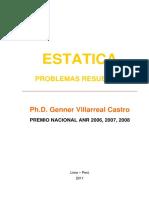 Estatica Villarreal problemas resueltos.pdf