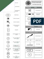 Simbologia Instalaciones Electricas - Tabla