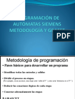 Programacion de Automatas Siemens-metodologia y Grafets