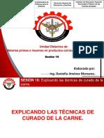 PPT -EXPLICANDO LAS TÉCNICAS DE CURADO DE LA CARNE. 10° sesion