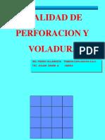 Calidad de Perforacion y Voladura Cmh