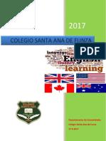 Proyecto de Lengua Inglesa 2017