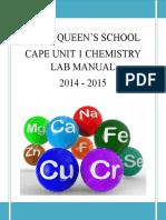 Cape Manual Unit 1 2015 (1)