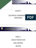 01 Circuit Pretection