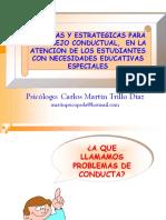 - Modificacion de Conducta - Ed. Especial