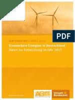 Erneuerbare Energien Daten 2017