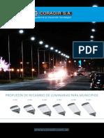 Propuesta de Recambio de Luminarias Para Municipios 2017