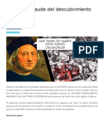 Colón y El Fraude Del Descubrimiento de América