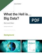 Bernard Marr CMI Big Data