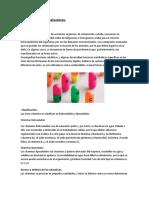 Tipos de Biocatalizadores