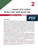 Mens Rean & Actus Reus (1)