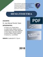 HEMATIMETRIA