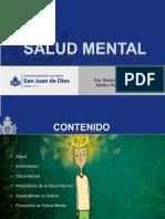 Salud Mental Generalidades