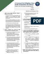 Examen de Perforacion y Voladura CEFOMIN