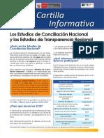 7-Los Estudios de Conciliación Nacional y Los Estudios de Transparencia Regional
