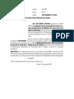 Apersonamiento Luis Juan-fiscalia