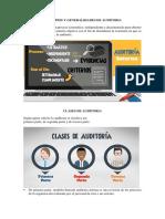 Principios y Generalidades de Auditoria