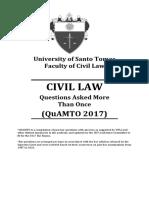 Quamto Civil Law 2017
