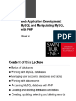 4 - MySQL & PHP.pdf