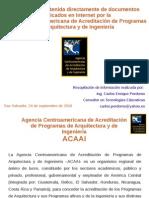 100924 Aportes Sobre Acreditacion de Carreras Con ACAAI