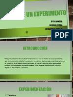 Diseño de Un Experimento- Estadistica