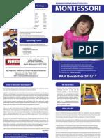 RAM Newsletter 2010-2011
