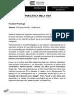 Prod 1 Ensayo Informatica
