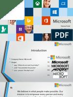 CSR Company- Microsoft