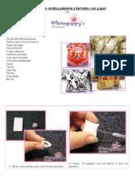Cuentas de Arcilla-polimerica Forradas Con Papel White Guppy Es