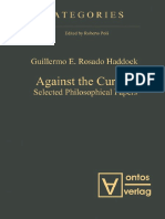 (Categories) Guillermo E. Rosado Haddock-Against the Current_ Selected Philosophical Papers-Walter de Gruyter (2013).pdf
