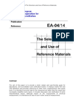 The Selection and Use of Reference Materials_ea-4-14