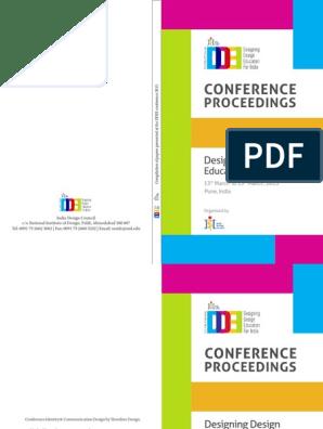 D De I Conference Proceedings Lite Mental Image Design