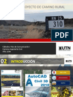 PRESENTACION DE UN CAMINO RURAL - VIAS DE COMUNICACION 1