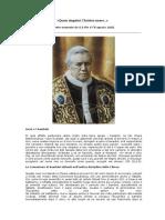 Decreto Quam Singulari Christus Amore, De S. Pio X, Estabelecendo a Primeira Comunhão Precoce