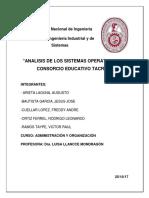 Monografía de Administración UNI LLANCE