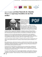 Há 30 Anos Morriam Tancredo de Almeida Neves e a Esperança Brasileira de Um País Melhor _ Ucho