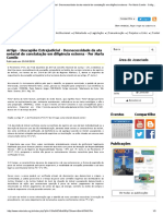 Artigo - Usucapião Extrajudicial - Desnecessidade Da Ata Notarial de Constatação Em Diligência Externa - Por Marla Camilo - Colégio Notarial Do Brasil - Conselho Federal