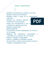 Valores  Institucionales I.E. 2016.docx