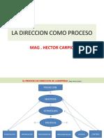 Direccion Como Proceso