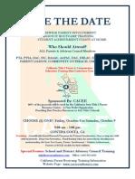 CA Title1 Parent Training Conference